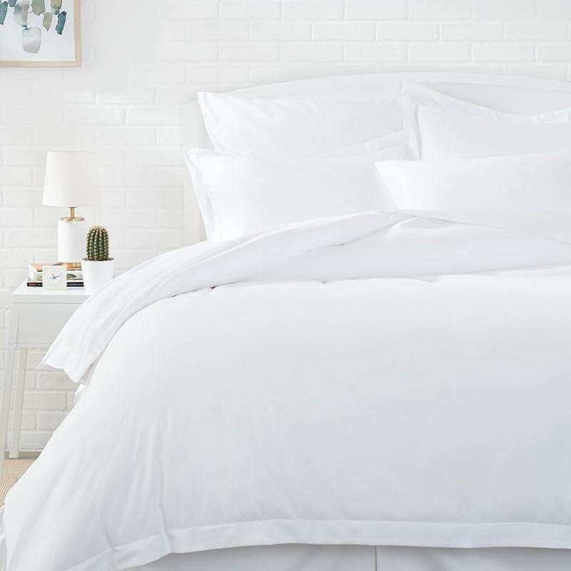 Luxury Egyptian bed sheet Cotton White Hotel Quilt Duvet Bed Cover Set for bedding sheet