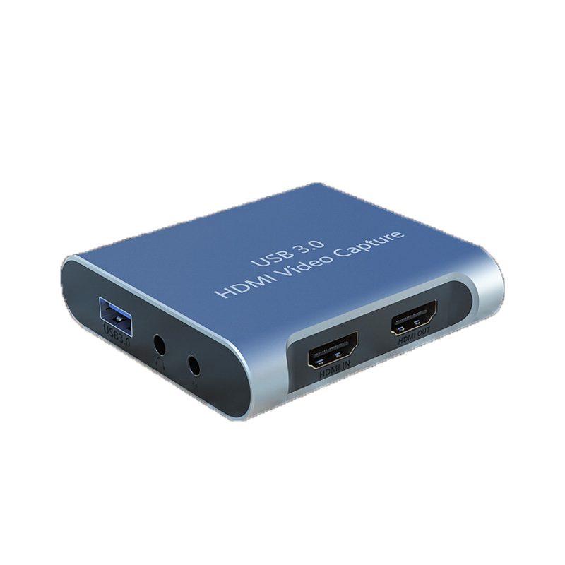 HD 4K HDMI To USB 3.0 Video Capture Box with Independent Audio Port