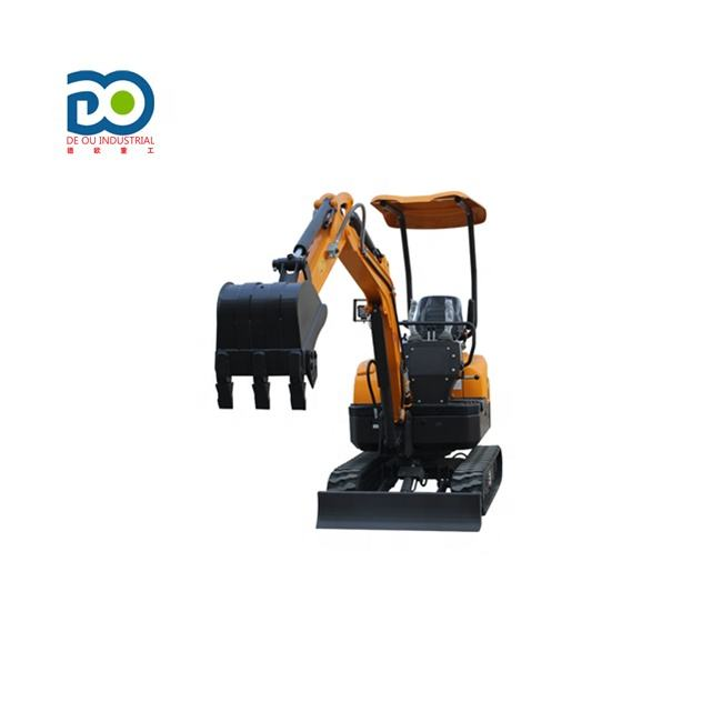 CE EPA China Cheap Price Hydraulic Excavator New Crawler Small Digger Micro Mini Excavator For Sale 0.8 Ton 1 Ton 2 Ton 3 Ton