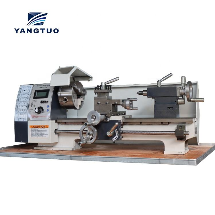220v 380v Factory direct selling cheap engin torno de mesa small metal working Bench Lathe WM210V mini lathe machine price
