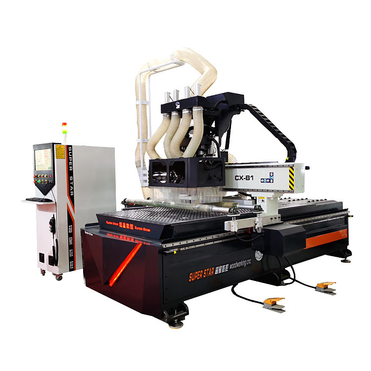 cnc wood router machine 1325 atc cnc router mdf cutting kitchen cabinet furniture making machine price