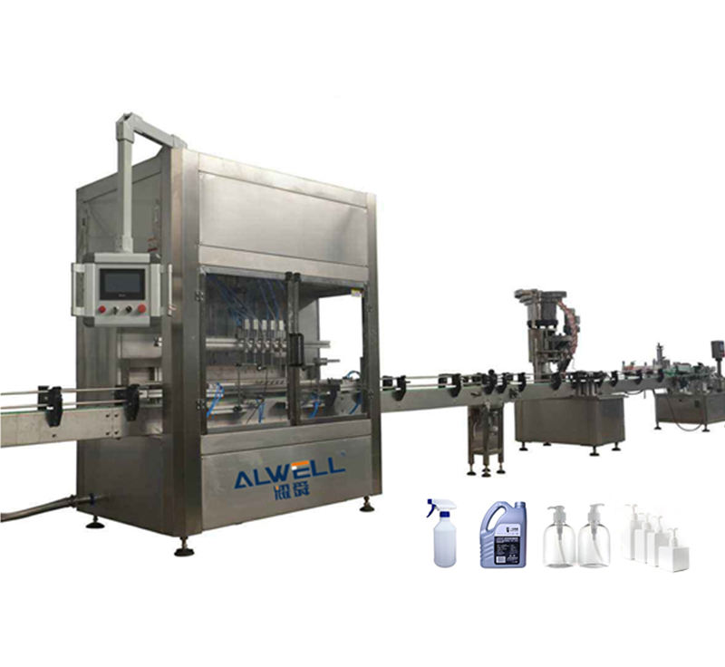 Small Bottle Filling Capping And Labeling Machine