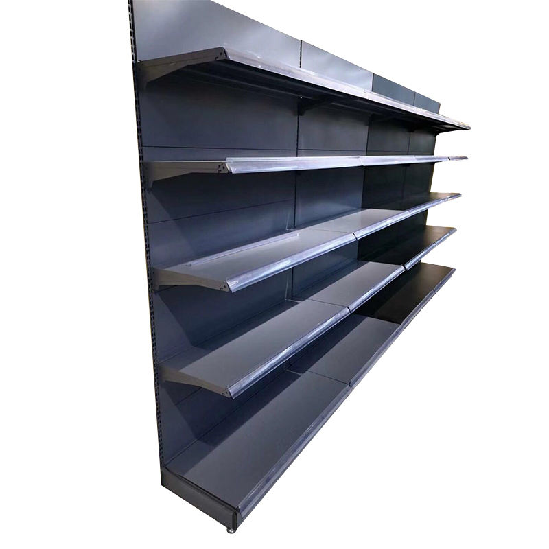 Singleanddouble-sided Grocery Display Shelf storage Shelf For Convenience Store