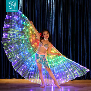 172 LED Light Up Belly Dance ISIS ปีกสำหรับเด็ก BellyQueen