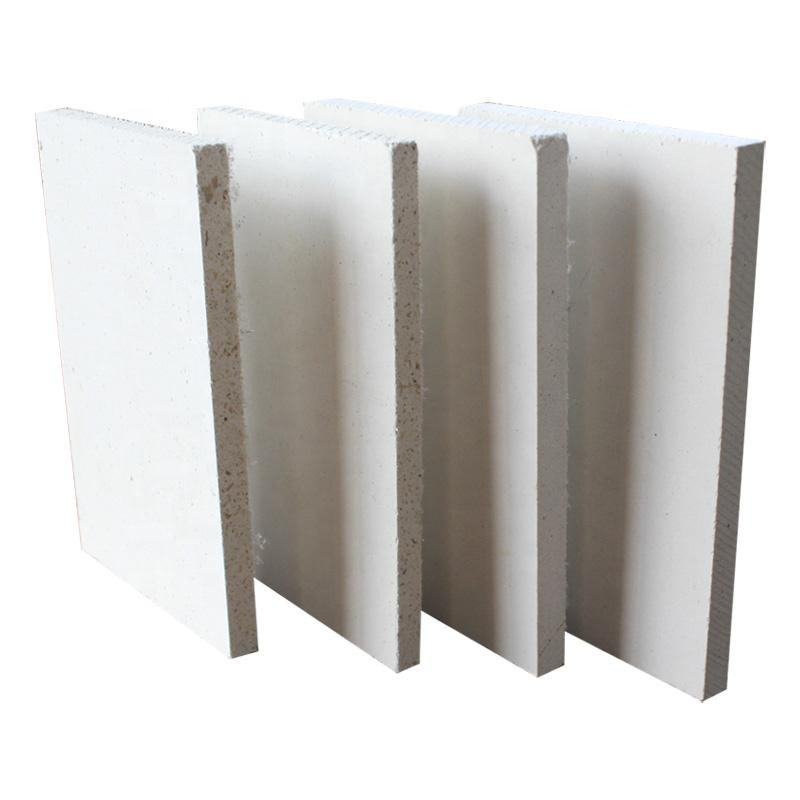 Fireproof MGO boards sound Insulation magnesium oxide board fire rated 12mm 15mm MGSO4 for exterior wall panel factory price