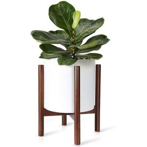 Hot Sale Modern Fashion Wooden Plant Pot Stand Indoor Decoration Flower Stand Outdoor Plant Stand