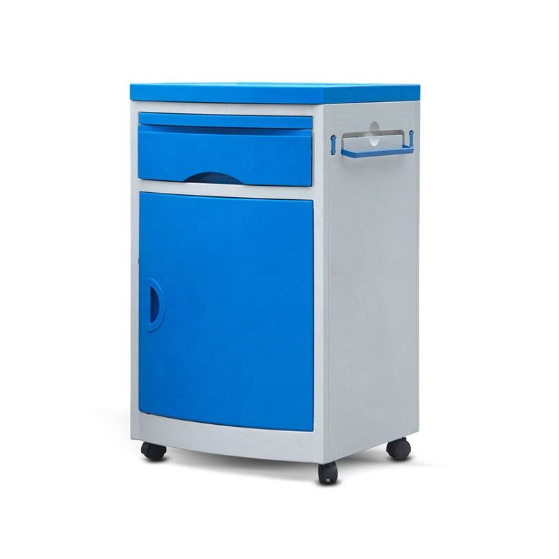 Manufacturer ABS Hospital Bedside Cabinet / Table / Lockers