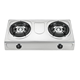 Stainless Steel Table Gas Stove 2 Burner Gas Cooker in Zhongshan