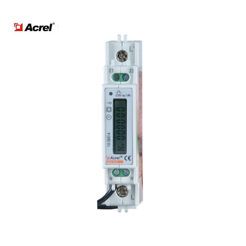 Acrel ADL10-E Single Phase LCD Display DIN Rail Digital Smart Multifungsi Listrik Power Meter KWh Meter Harga Rendah