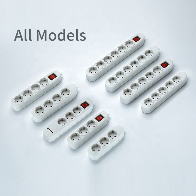 16A Multi Electrical Switch Socket Plug