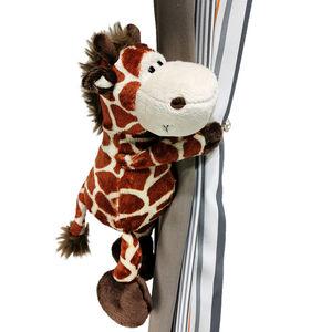 Kuscheltier Giraffe Junior 18 cm Plüsch gelb