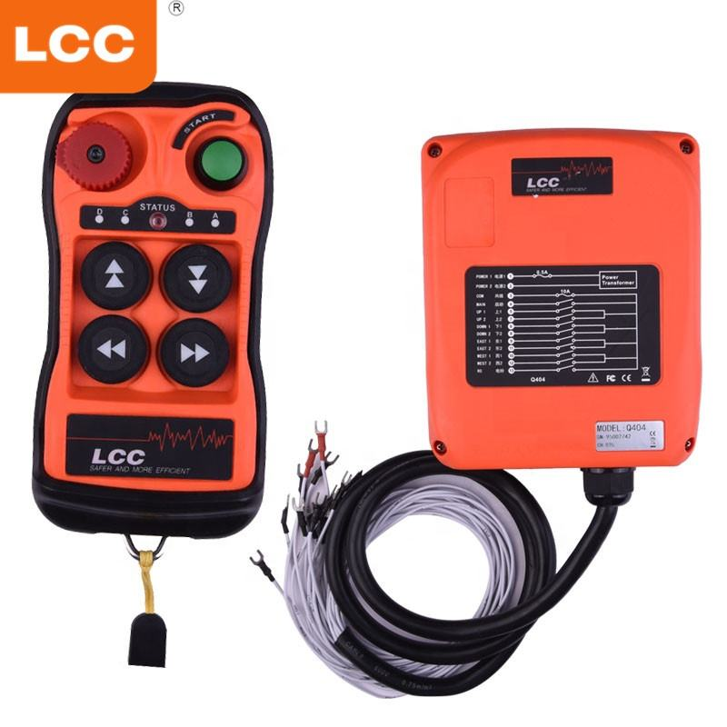 Crane emergency stop switch usb programmable radio remote control for concrete pump truck
