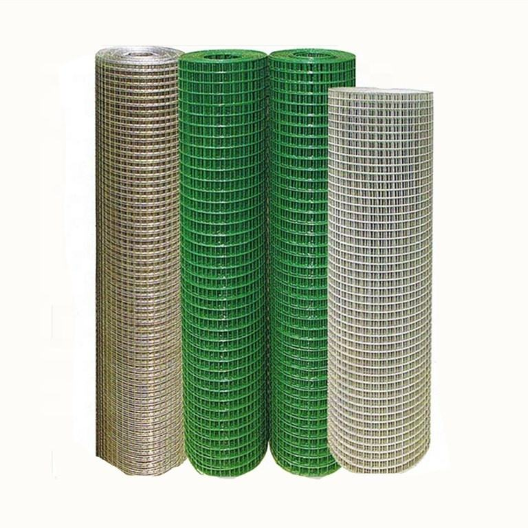 factory supply 5mm x 5mm welded mesh/ welded fence wire mesh fence