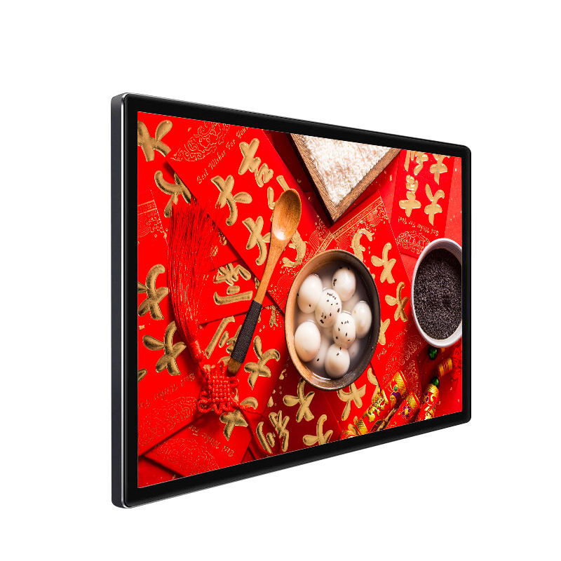 55 inch wall mounted android network wifi touchscreen capacitive for advertising in the shopping mall