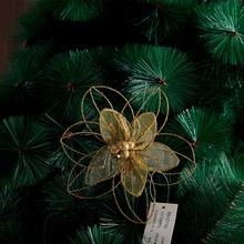 New Arrival wholesale Christmas Tree Decoration Colorful plastic flower holiday party decorations