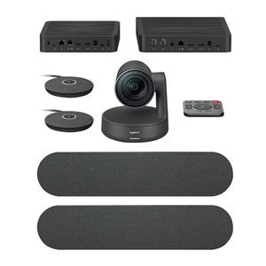 Logitech CC5000E Plus Video System Camera Business USB HD Webcam With Microphone Speaker For Large Conference Rooms