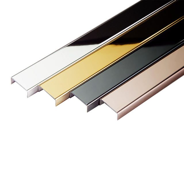 Aluminum Polished Wear -Resistant Ceramic Tile Edging