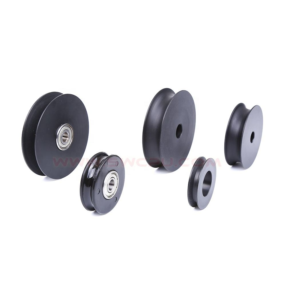 Small plastic pulley double v belt idler pulley