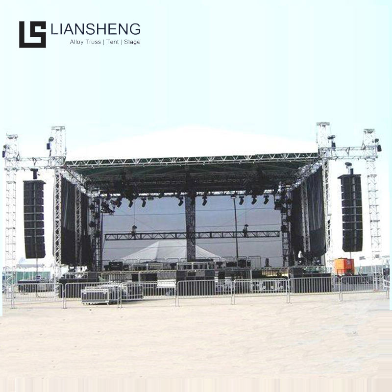 290mm Exhibition hanging speaker square Stage aluminum roof Truss display 290 Aluminium Truss Accessories