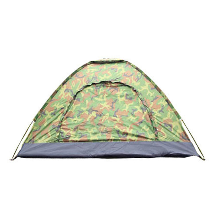 Army green camouflage sports folding outdoor camping family camo 4 person tent