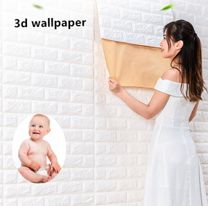 foam brick 3d wall panel/3d foam wall stickers for home