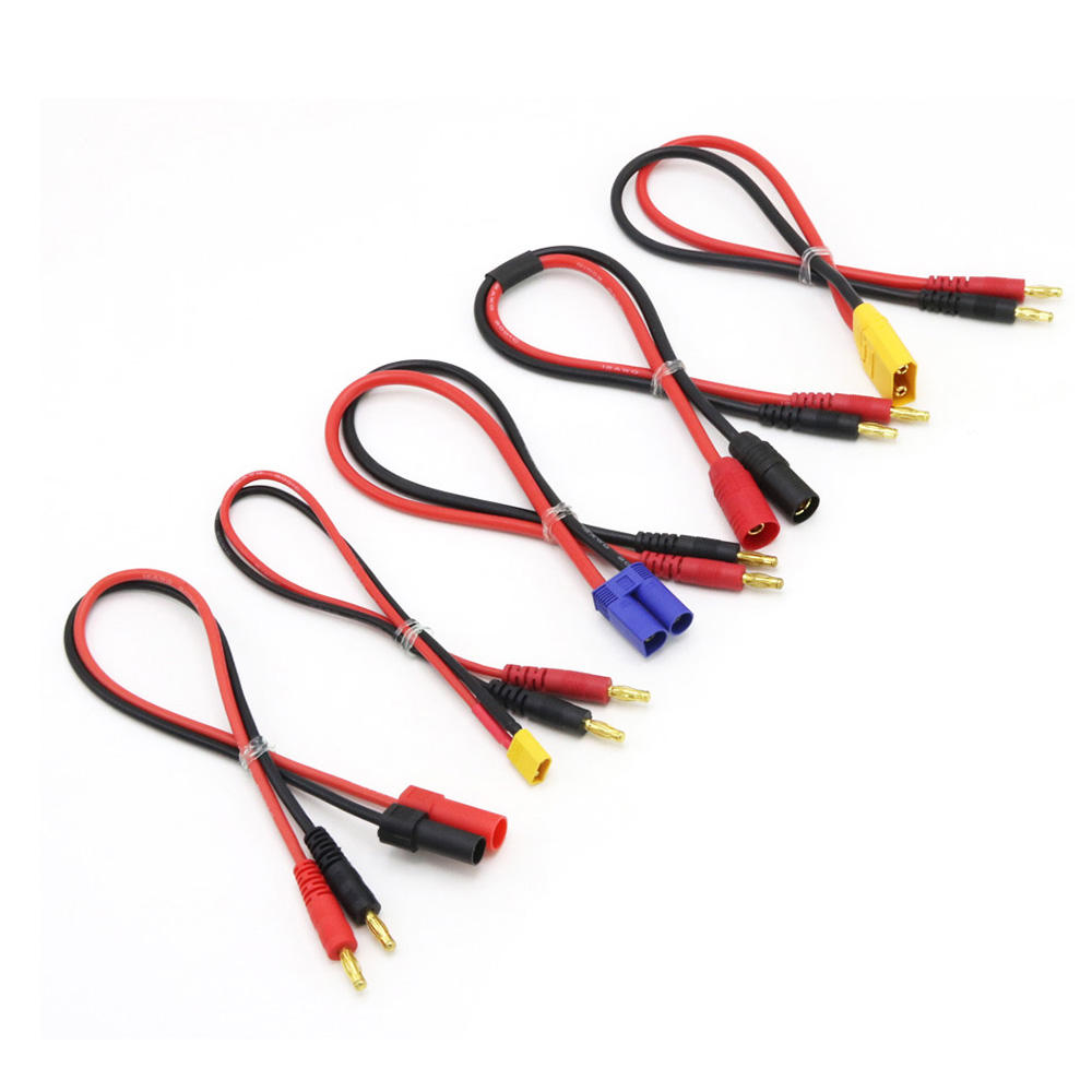 10 x Mini Mini SH 1.0mm 4-Pin JST Double Connector Plugs Wires Cables 100MM xn