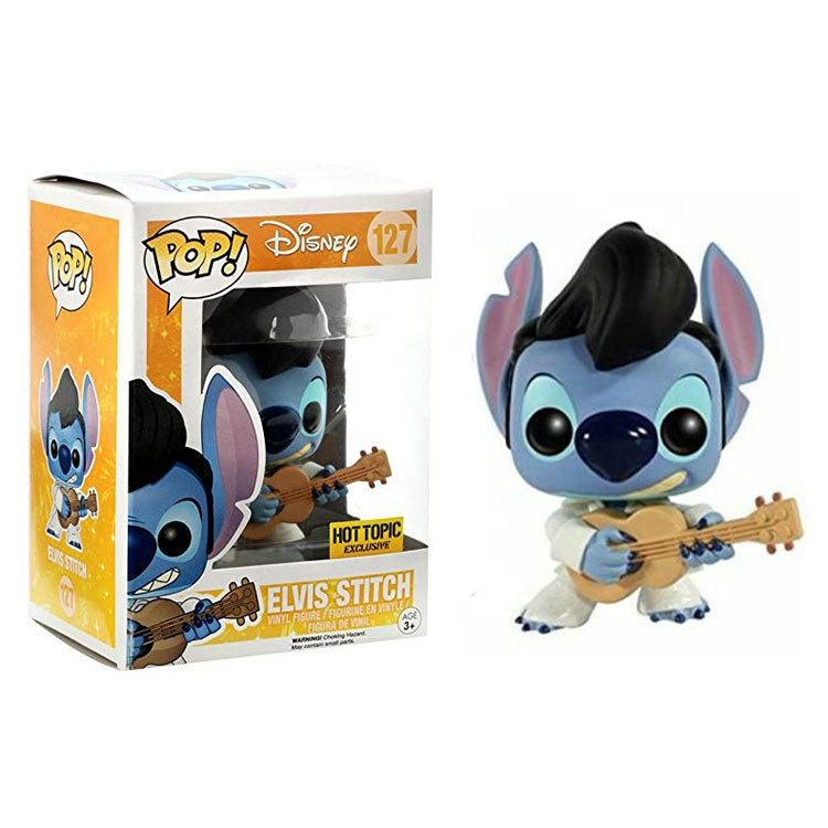 FunkO Pop ELVIS STITCH Vinyl Figure Dolls Toys Collection Model Toys anime gift 127