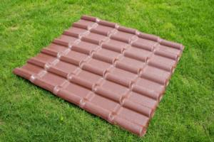 upvc plastic shed asa roof corrugated sheet tile with insulation 4 layer