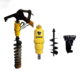 Auger attachment mini excavator/hydraulic auger drill/Hydraulic pole drilling machine for sale.