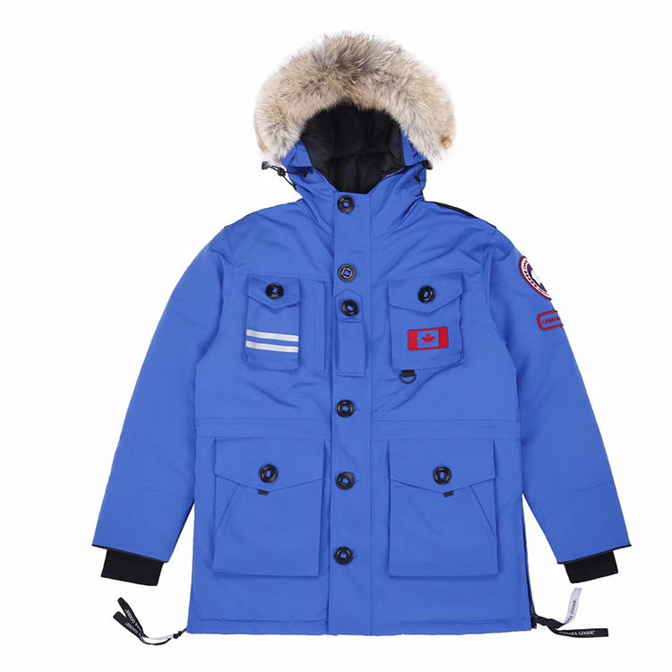 High Quality Wholesale Plus Size Jackets Coat Canada Style Men's Goose Down Jacket