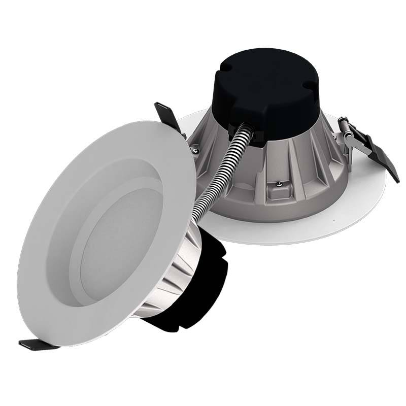 Supply 120-277V Commerciële Led Ronde Plafond Down Lichtpunt Led Verzonken Neer Licht