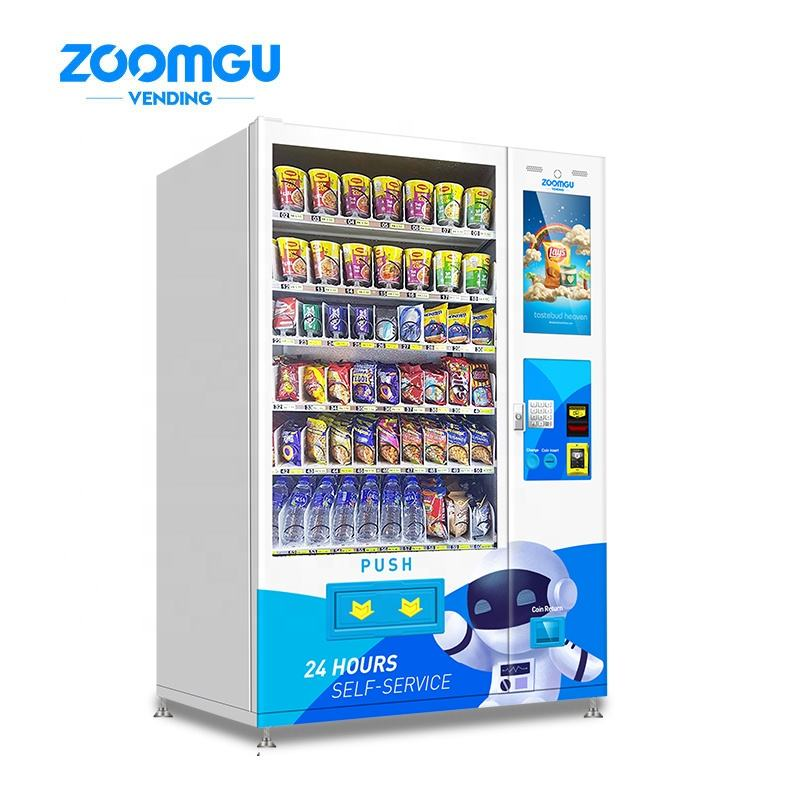 Zoomgu Oem Odm Touch Snacks Kleinen Bildschirm <span class=keywords><strong>Automaten</strong></span> Mit <span class=keywords><strong>Gsm</strong></span> Control