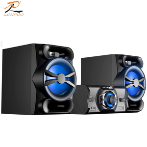 LONPOO flagship Home use mini hifi system BT party speaker