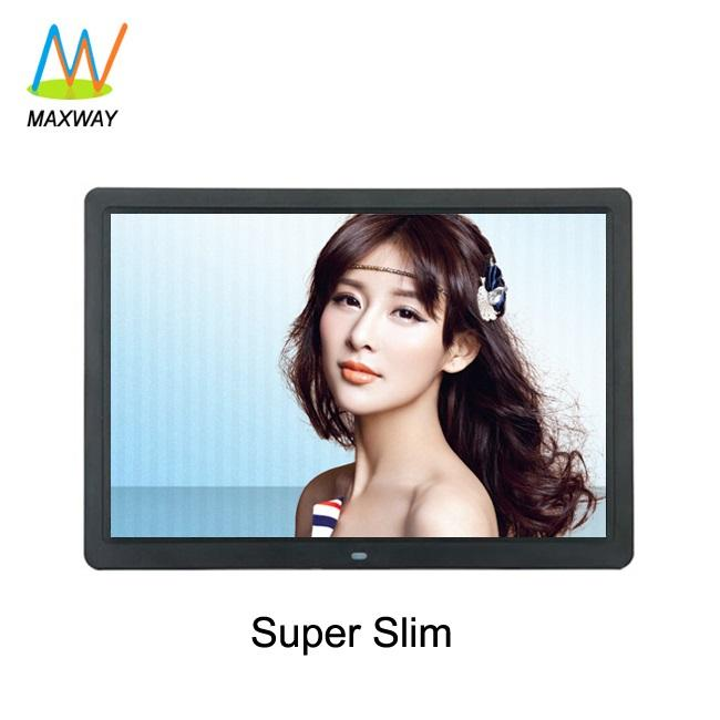 15 Inch Wall Mount Digital Signage Lcd Monitor Usb Media Player For Advertising