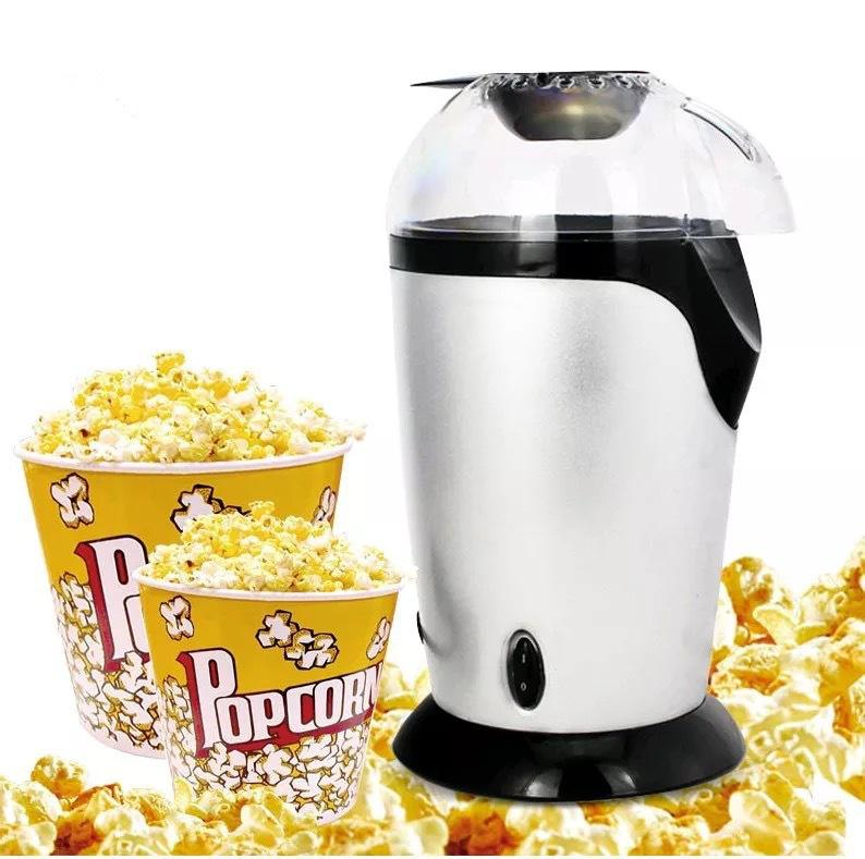 Mini Household Electric Popcorn Maker Machine Automatic Red Corn Popper Natural Popcorn Home use Household For kids Children