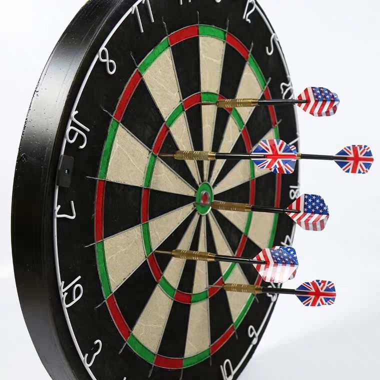 2019 new custom professional printing bristle dart board