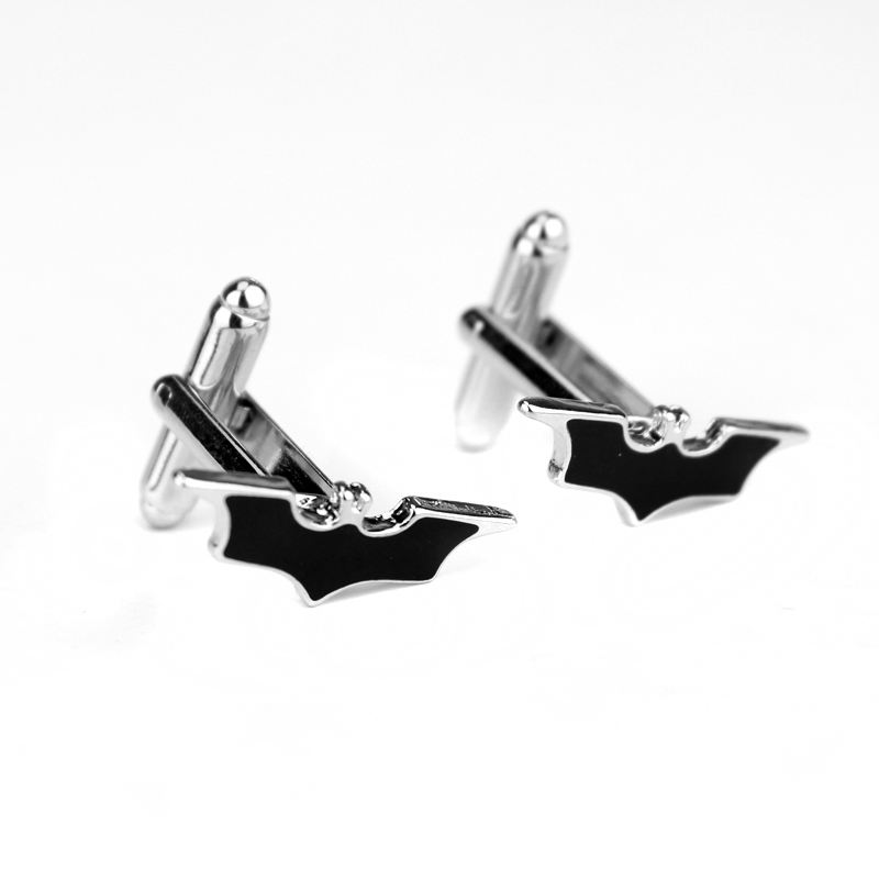 America DC Comic Justice League Batman Enamel Cufflinks