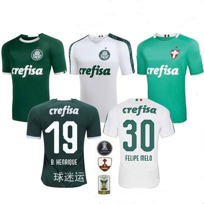wholesale new 2019 2020 football jersey top grade quality soccer kit camisa de futebol Palmeiras league jersey