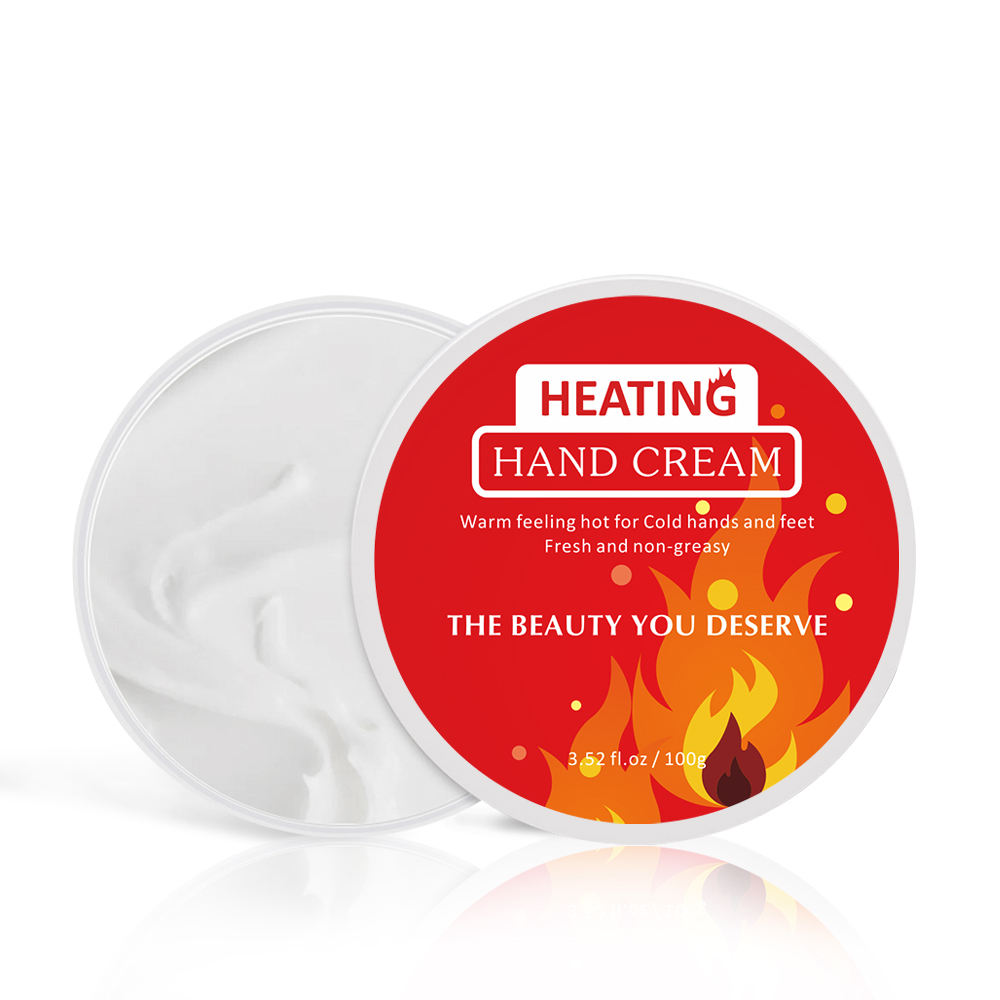 New Formula Heat Factor Avocado Hand Cream Repair Hand Skin Moisturizing Tighten Dry Itching Frostbite Whiten Heat Hand Cream