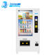 ZG Gift Advertising Sushi Touch Screen Dual Zone Commercial Refrigerated Combo Vending Machine Dispenser Lcd Sreeen