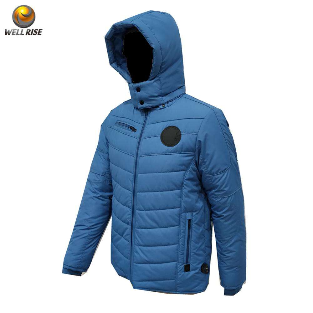New custom padded jacket clothing manufacturers man coat men's quilting jacket waterproof windproof winter jacket coat for man