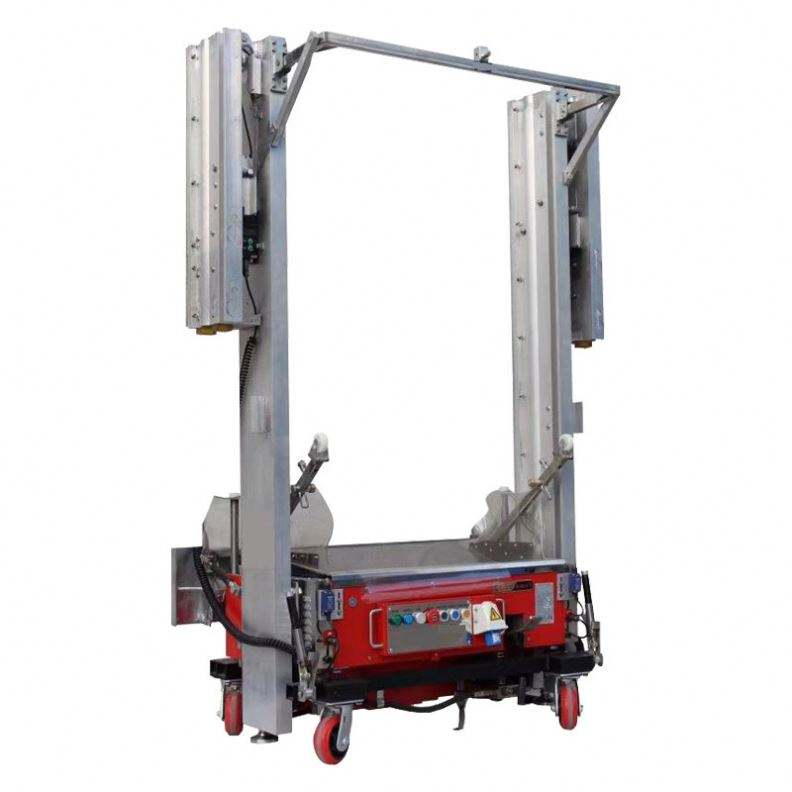 Render Automatic Building Cement Mortar Lining Wall Spray Plastering Machine