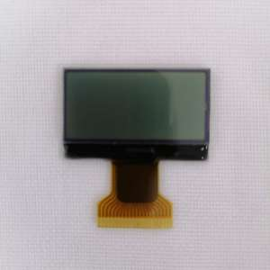 6 oclock FSTN positive Transmissive 128x64 dot matrix LCD monochrome display module with IC ST7567A FPC