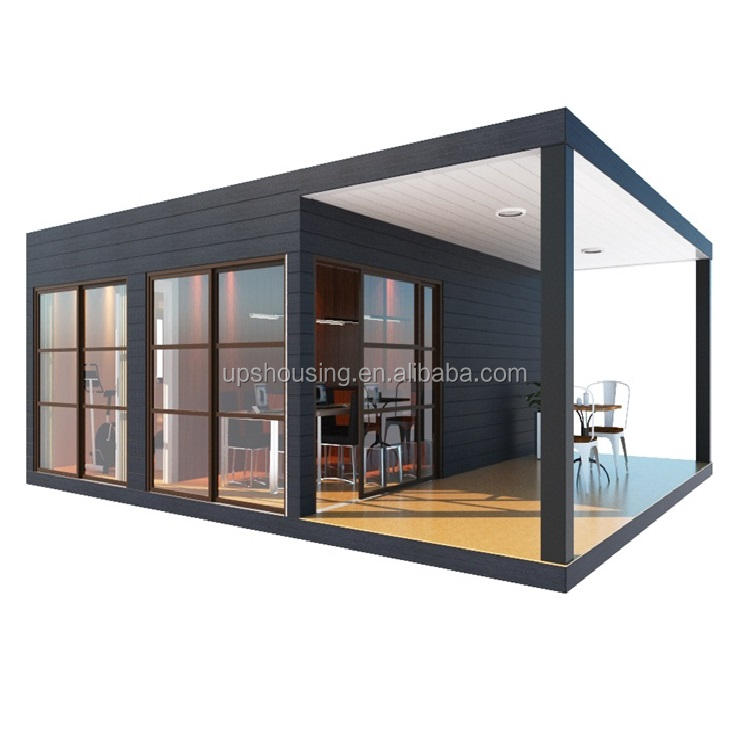 high quality sandwich panel modular prefabricated container house/hotel/restaurant
