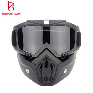Foam Padding Afneembare Road Riding Motorbike Bril Off Road Motorfiets Masker Motocross Goggles