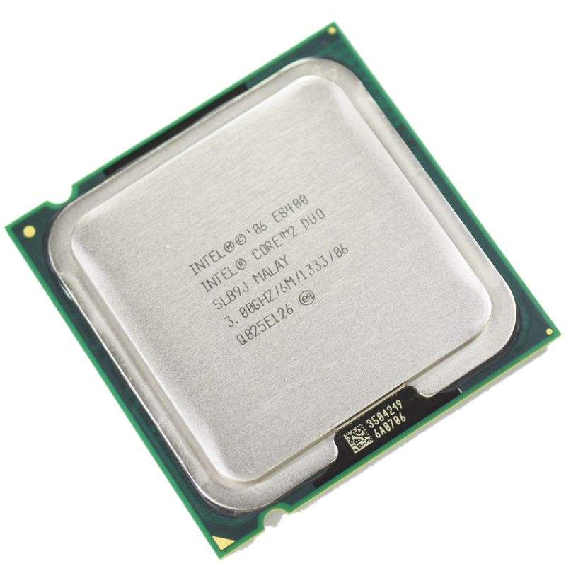 Core 2 Duo E8400 Processor Dual-Core 3.0Ghz Socket 775 cpu