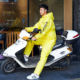 Pvc Raincoat Pvc Raincoat Yellow Pvc Full Body Clear Transparent Fashionable Reflective Givi Heavy Duty For Motorcycle Riders Cloth Plastic Raincoat