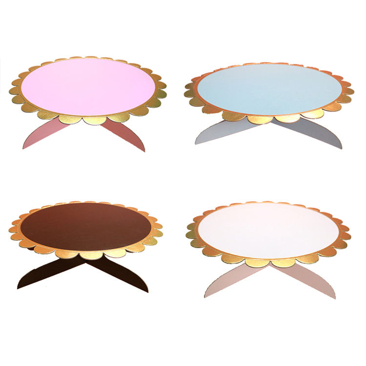 Factory Direct Supply Bronzing Cake Stand Wedding Cake Stand Party Decoration Event & Party Supplies