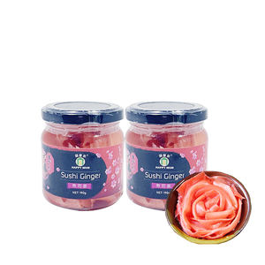 Japanese 190g Shredded Food Pickled sweet pink red Sushi ginger