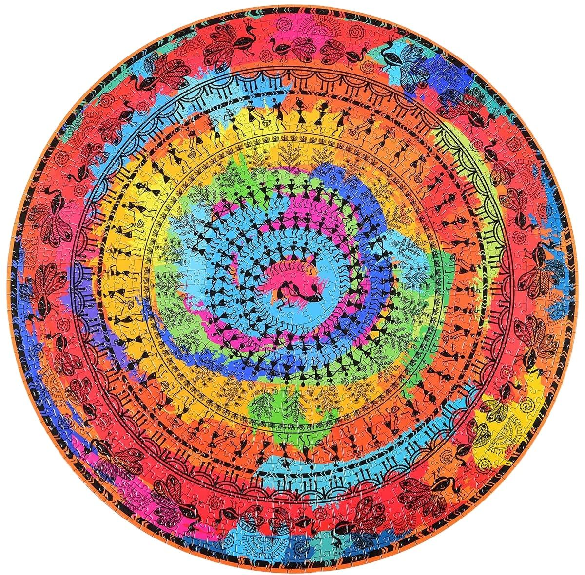 Hot Sale Round Square Custom 1000 Piece Jigsaw Puzzle